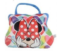 Minnie Mouse Cushion Pillow & Bag to Go - 2 in 1 - Peek a Bow